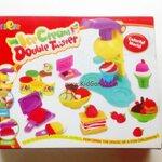 ชุดแป้งโดว์ Ice-Cream Double Twister(กล่องใหญ่)