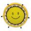 แทรมโพลีน 40 นิ้ว สปริงบอร์ดใช้สำหรับออกกำลังกาย สีเหลือง smile thumbnail 3