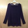 **ราคาพิเศษ อก44-52 แบรนด์ ZENANA เสื้อคนอ้วน เสื้อผ้ายืดเนื้อเบานิ่มมากๆ ตัดต่อชายเสื้อด้วยผ้าชีฟอง สีดำ