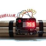 นาฬิการะเบิดเวลา  (เหมือนจริงมาก)  Defusable Time Bomb Alarm Clock
