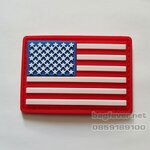 AMERICAN FLAG VELCRO ARMPATCH