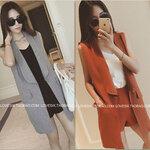 เสื้อคลุมเบรเซอร์สีพื้น สไตล์เกาหลี [ขายส่ง 320.-*]
