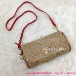 กระเป๋าแบรนด์ Coach signature mini ruby crossbody ขนาด 10 นิ้ว (5A)