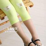 ขายส่งกางเกงเลคกิ้งสีเขียว kk050-89
