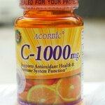 วิตามินซี ACORBIC C -1000 mg.