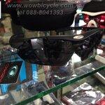 แว่นตาจักรยาน oakley (สำเนา) พร้อมเลนส์ 5 ชุด สีดำล้วน