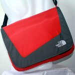 THE NORTH FACE - MESSENGER II -RED/GREY