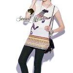 Egypt Style Dress Skinny Set by Seoul Secret