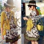 Urban Safari Print Mini dress