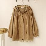 jacket ดีเทลลูกไม้ สไตล์ญี่ปุ่น คัตติ้งเกาหลี100% [ขายส่ง850.-]