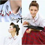 Lady Ribbon's Made Katie Surreal Hand Embroidered Shirt in White