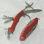 7in1 MULTIFUCNTION SWISS KNIFE - RED