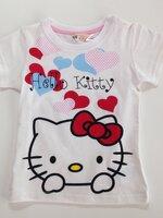 เสื้อยืด สรีนสวย ป้าย H&M ลาย Kitty *ขาว* 4 ตัว/แพค *ส่งฟรี*