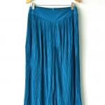 Pleated Maxi Pant - Blue Green (M/L)