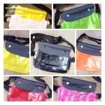 กระเป๋ากันนำ้ v.2 ระบบชิป 2ชั้นพร้อมกระดุม กันนำ้ 100%