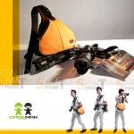 Caseman Camera Bag C10 Orange